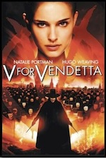 V for Vendetta, whole-movie ESL lesson poster