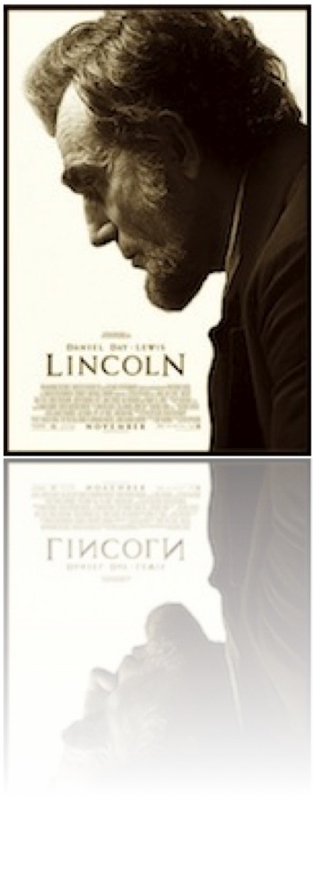 Lincoln, movie poster, Daniel Day Lewis