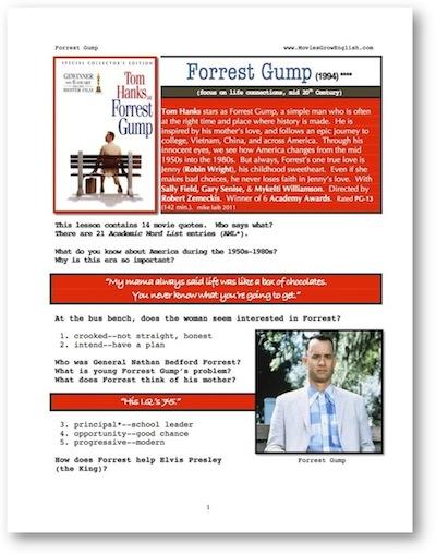 forrest gump analysis