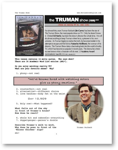 truman show sociology essay Enotescom will help you with any book or any question our summaries and analyses are written by experts, and your questions are answered by real teachers our summaries and analyses are written by experts, and your questions are answered by real teachers.